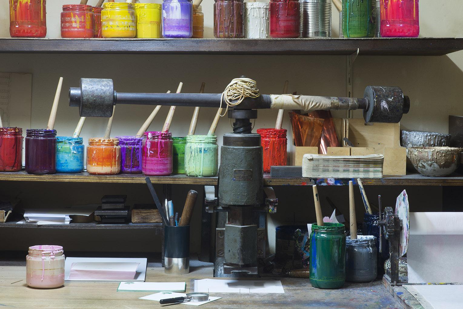 L'atelier Benneton Graveur