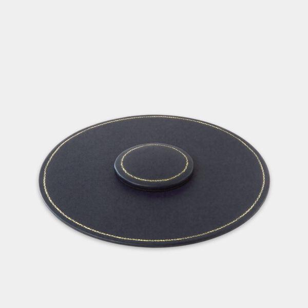 Plans de table cuir, Benneton Graveur