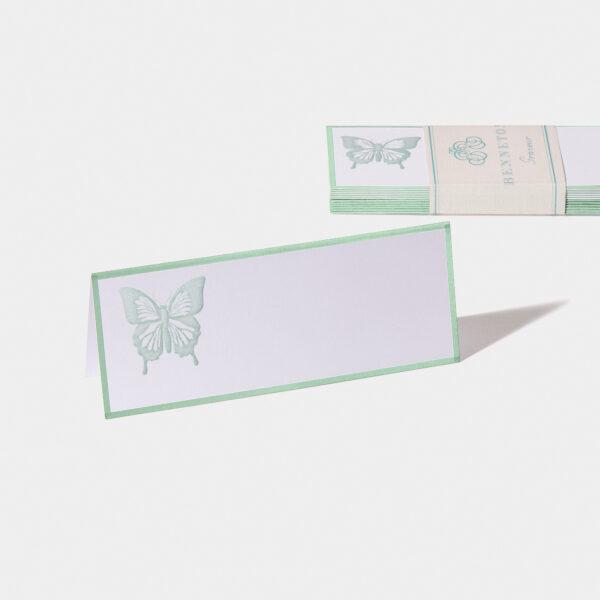Benneton graveur, timbrage papillon
